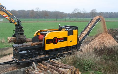 Europe Chippers EC 1175 Trailer mount